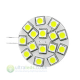 G4 DC 15 Led Cool White Led Bulb 8v-30v 2.6w=35w