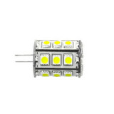 G4 DC 10-30V 24 5050 Led Warm White Led Bulb 4.3w=43w (Default)