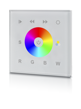 White Glass Fronted DMX RGB Colour Change Wall Panel