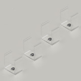 Set of 4 Mounting Brackets For Our Extra Deep Aluminium Channel Profile