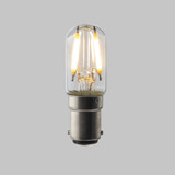 Pygmy T20 LED Filament Bulb Lamp - (B15) Small Bayonet Cap 1.6w - Dimmable
