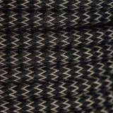 Braided Fabric Flex Cable Zigzag