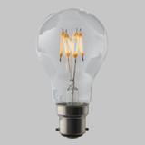 4W GLS LED Zigzag Filament Bulb B22 EasyDim