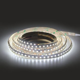Premium High CRI >90 840 Lumen 12v 9.6W 6000K Cool White 120 x 3528 Per Metre Led Tape IP20