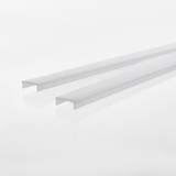 Pair of 2 Metre Length Opal Diffuser For Architectural Double Illuminated Channel
