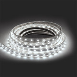420 Lumen 24v 4.8W 6000K Cool White 60 x 3528 Per Metre Led Tape IP65 Sleeve (5 Metre reel)