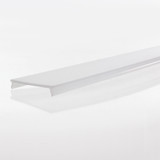Diffuser for Extra Wide Plaster-in Profile 98mm - 2 Metre Length