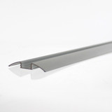 Curved Wide Aluminum LED Profile 52.3mm - 2 Metre Length