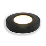 Surface Mounted Puck Furniture Spotlight, Neutral White 4000K, Black