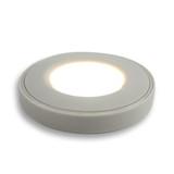 Surface Mounted Puck Furniture Spotlight, Neutral White 4000K, Whit