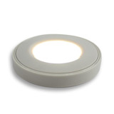Surface Mounted Puck Furniture Spotlight, Warm White 3000K, White