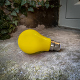 Weatherproof LED Festoon Bulbs, Classic GLS, Yellow