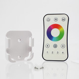 Ultra Thin 4 Zone RGB/RGBW Touch Wheel Remote Controller