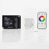 4 Channel Controller and Remote Control Bundle for 12-48V RGB+RGBW LED Tapes