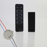 Elencho RF Controlled Mains Dimmer and Receiver Bundle, 100W Output