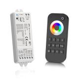 RGB+CCT Handheld Remote + 5-in-1 Receiver Bundle - 4 Zone