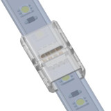 Solderless IP Tape To Tape Connector for 12mm 4 Core RGB LED Tapes