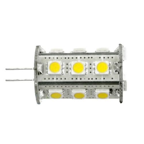G4 DC 10-24V 18 Led Cool White Led Bulb 2.4w=35W Type A