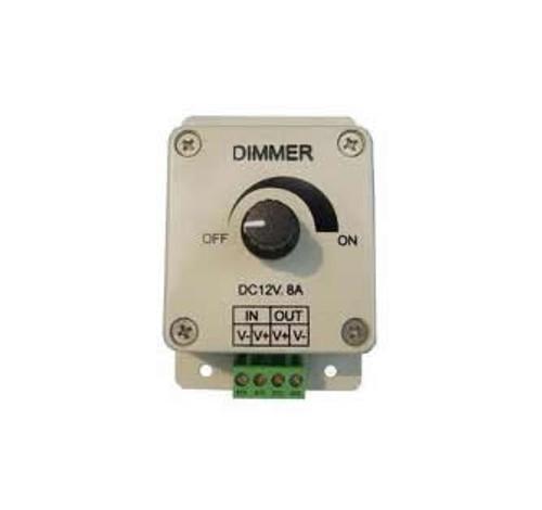 Dial Dimmer for all Single Colour LED Tape (60/78/120) 12v + 24V