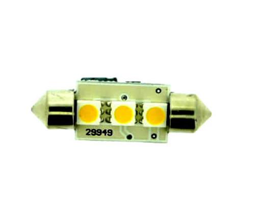 (239) 37mm 3 WA SMT Leds Festoon 5W output Warm White