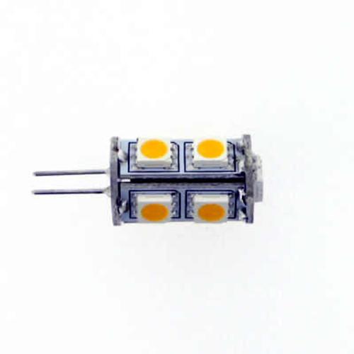 G4 AC/DC 9 Led Warm White Led Bulb 10-30v 1w=18W