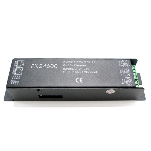 PX24600 (DMX) 0 - 10 Dimming 12 + 24v 6A