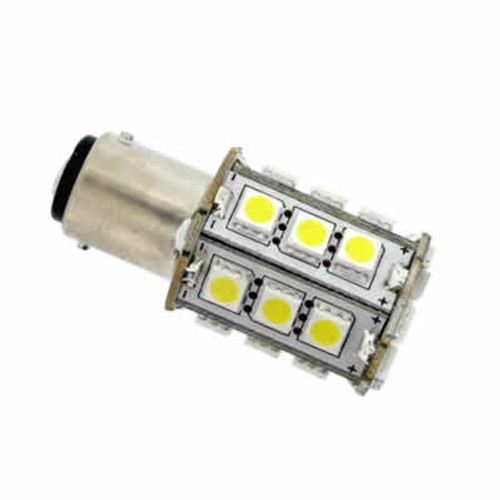 1142(BA15D) 24 x Leds Warm white 4.3w = 43w