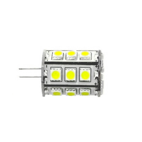 G4 DC 10-30V 24 5050 Led Cool White Led Bulb 4.3w=50w