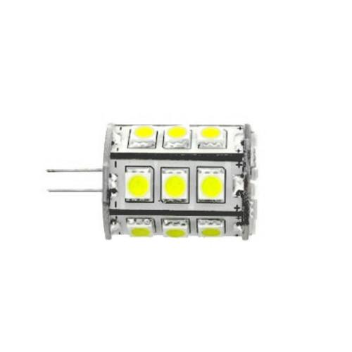 G4 DC 10-30V 24 5050 Led Cool White Led Bulb 4.3w=50w