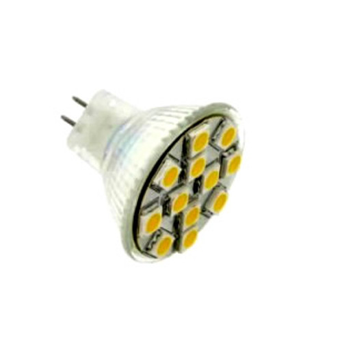 15 Led MR11 180 Lumen Cool White AC/DC 2.5W=30W