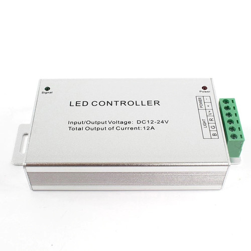 RGB Credit Card Style Controller, Single Zone,12/24V