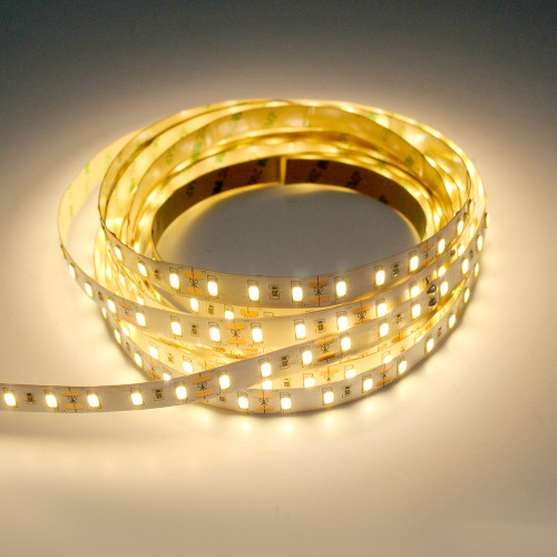 2160 Lumen 12v 17.5W 3000K Warm White 72 x 5630 Per Metre Led Tape IP20 (5 Metre reel)