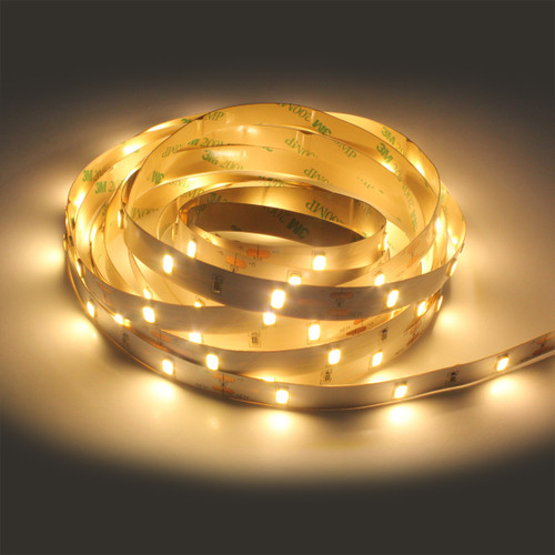1200 Lumen 12v 7.2W 3000K Warm White 30 x 5630 Per Metre Led Tape (5 Metre reel)