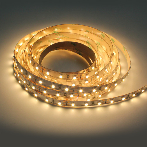 Premium High CRI >90 750 Lumen 12v 9.4W 2700K Warmer White 78 x 3528 Per Metre Led Tape IP20 (5 Metre reel)