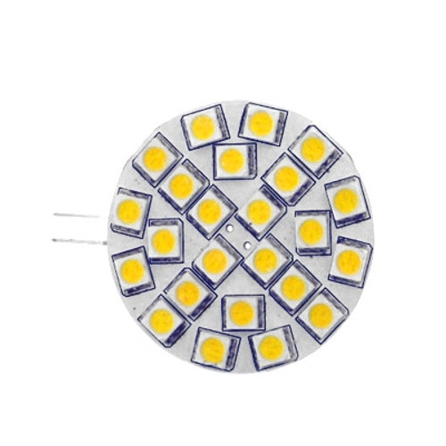 24 Led Cool White G4 Disk Side Pin 4.3w=50w