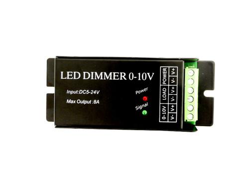 Led Dimmer 0-10V 12v or 24V 8A Maximum