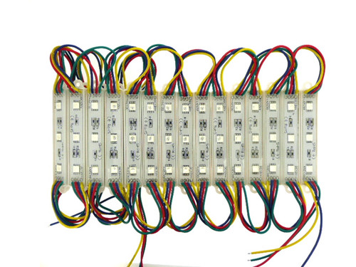 3 x RGB 5050 Leds per Block 1.08W IP65 (Default)
