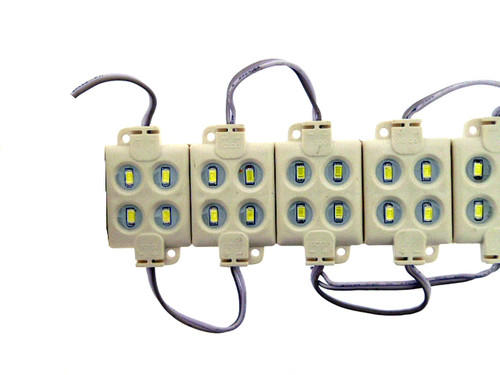 4 x Warm White 5630 Leds per Block 2.16W IP65 180 Lumen (Default)