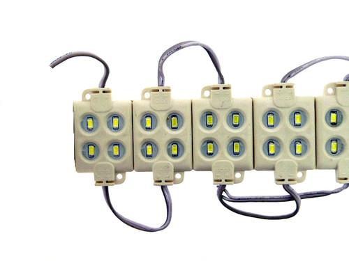 4 x Warm White 5630 Leds per Block 2.16W IP65 180 Lumen (Default)