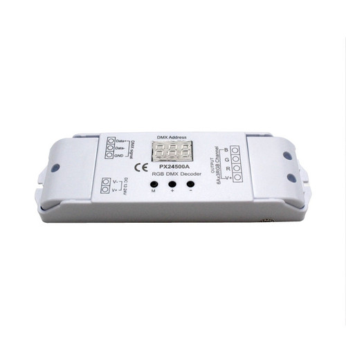 PX24500A 3 Channel x 6A DMX Controller Constant Voltage