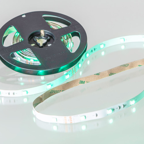 24V Eco Bright LED Tape, RGB Colour Changing, 30 LEDs p/m, IP20 (5m Reel)