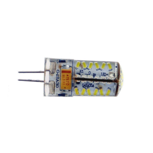 G4 57 Led Cool White IP67 Waterproof 12v AC/DC Dimmable 3W