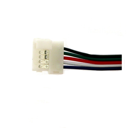 RGBWW / RGBCW  Tape to Wire connectors