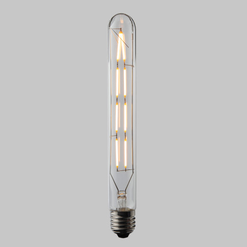 6W Dimmable T30 Large Tube LED Filament Bulb Edison Screw (E27)