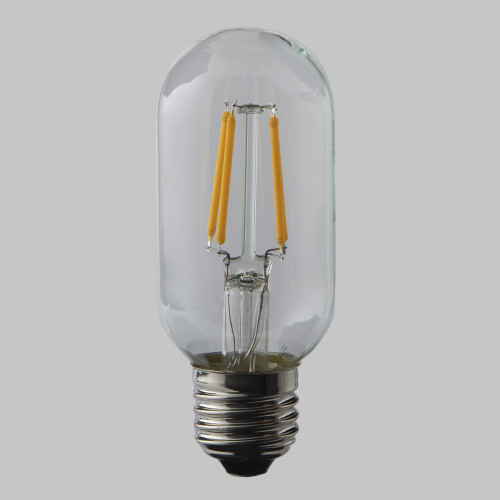 4W Dimmable T45 LED Filament Tube Bulb (E27)
