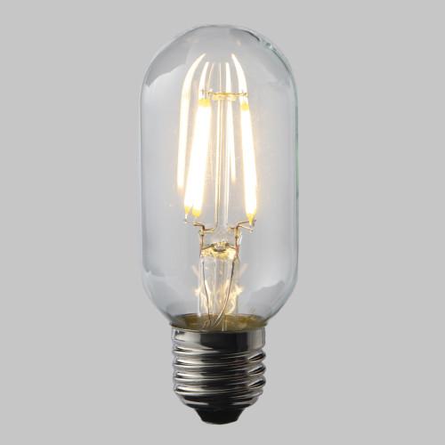 4W Dimmable T45 LED Filament Tube Bulb (E27)