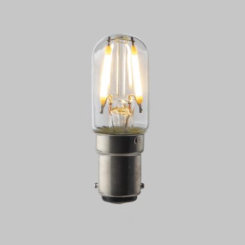Pygmy T20 LED Filament Bulb Lamp - (B15) Small Bayonet Cap 1.6w - Dimmable