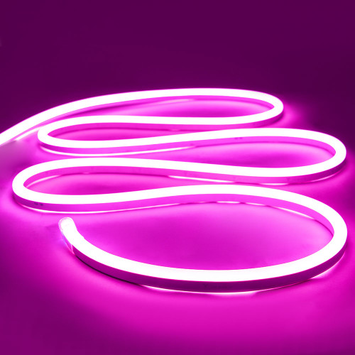 Top View Display LED Neon Flex, 15x26mm, Pink