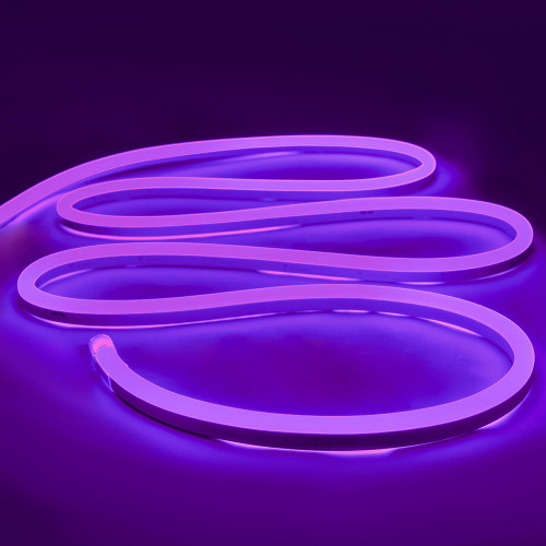 Top View Display LED Neon Flex, 15x26mm, Purple