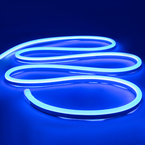 Top View Display LED Neon Flex, 15x26mm, Blue